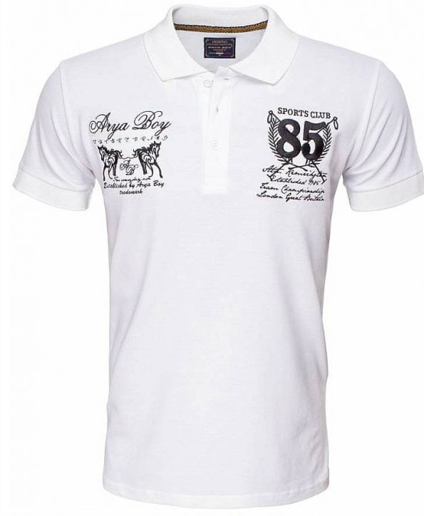 Arya-Boy-Polo-Shirts-Heren-Goedkoop-Korte-M ouw-Wit (2)