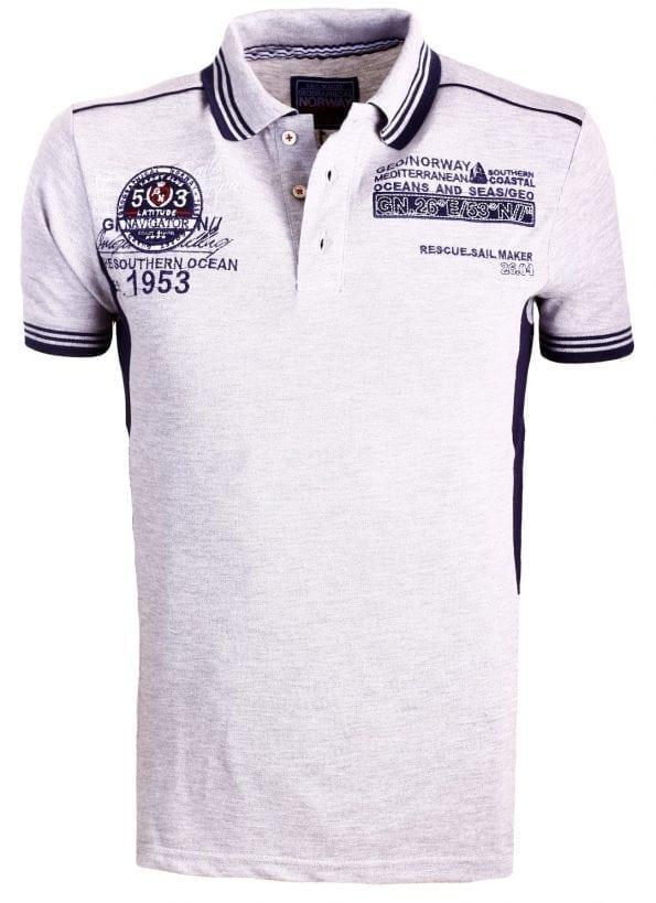 Geographical_Norway_Heren_Poloshirts_Polos_Shirts_Karpet_Grijs_Bendelli (4) (Large)