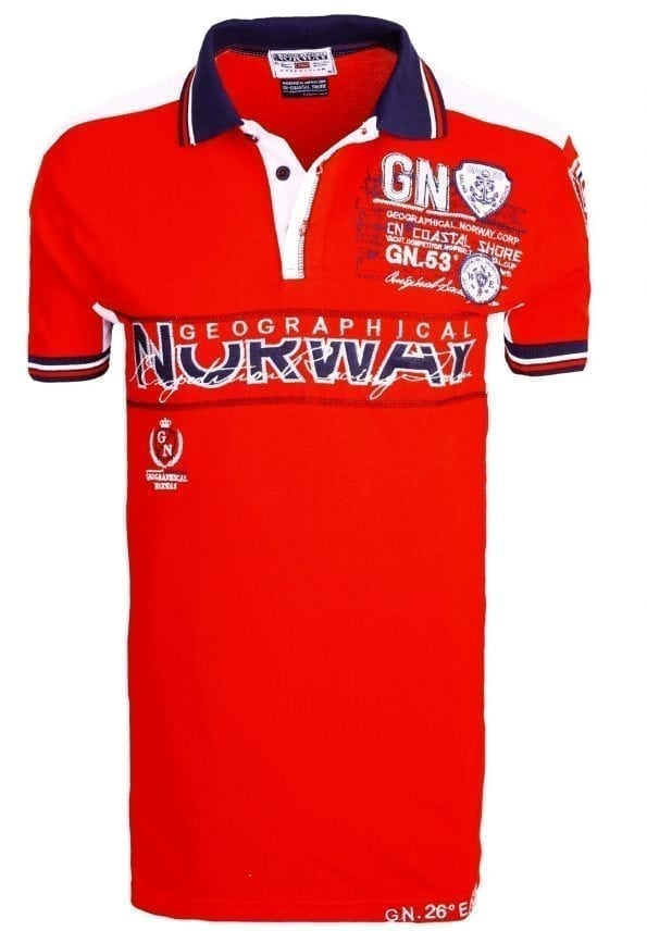 Geographical_Norway_Heren_Poloshirts_polo's_Kapable_Bendelli_Rood_ (18) (Large)