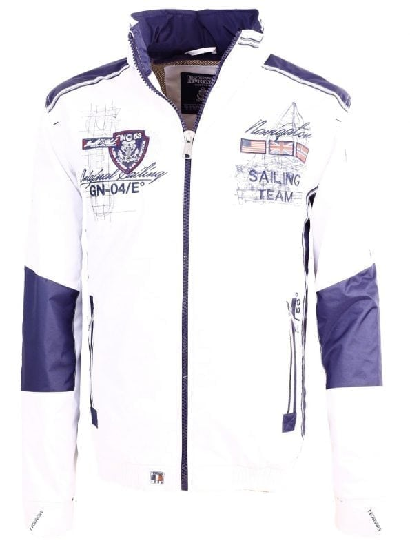 Geographical_Norway_Zomerjas_Heren_Chrome_Bendelli_Wit