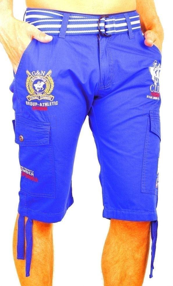 Korte-Broek-Heren-Bermuda-Rivaldi-Goedkoop-Polo-Club-Blauw (5) (Large)
