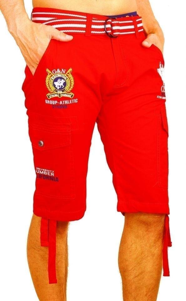 Korte-Broek-Heren-Bermuda-Rivaldi-Goedkoop-Polo-Club-Rood (5) (Large)
