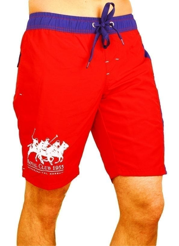 Zwembroek-Geographical-Norway-Zwemshorts-Ropyal-Polo-Rood-Model (1) (Large)