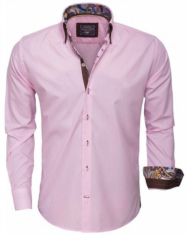 Arya-Boy-Italiaans-overhemd-85254-pink