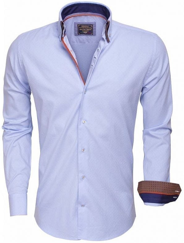 Arya Boy Italiaans Overhemd Lichtblauw 85258