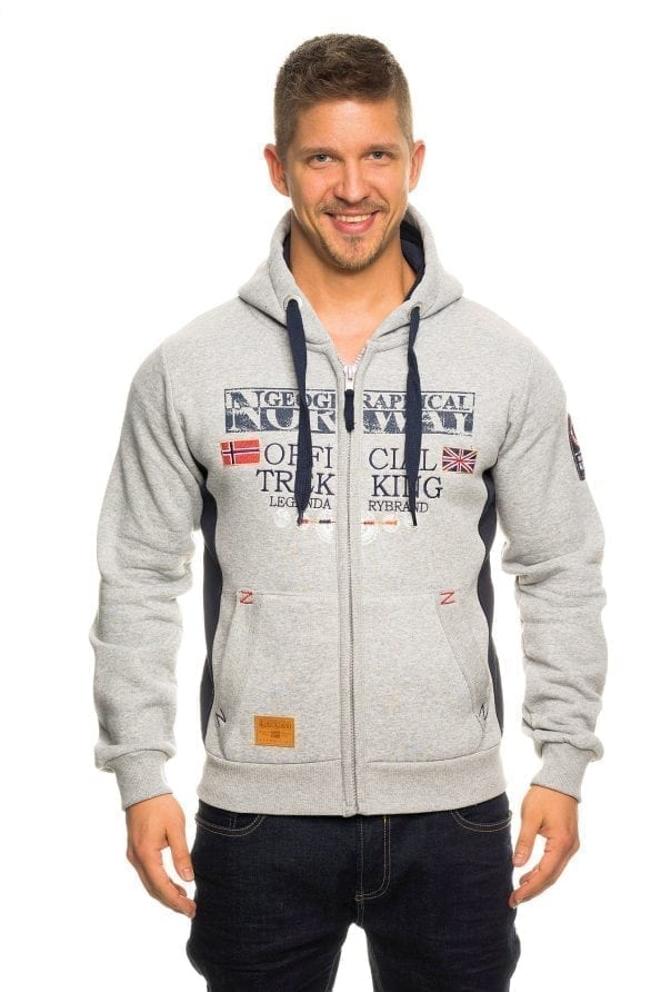 Geographical Norway Gafont grijs