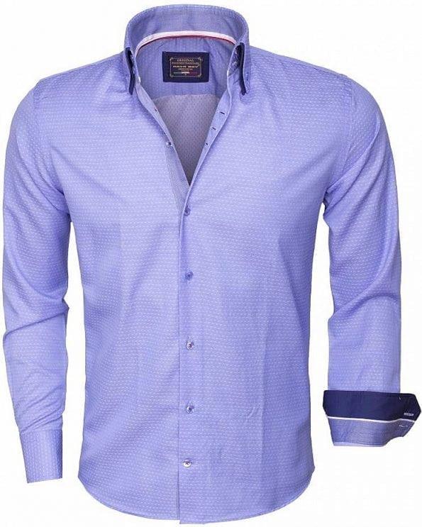 Arya Boy-overhemd-lange-mouw-85262-blue_Bendelli
