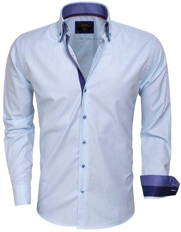 wam-denim-overhemden-Italiaanse_kwaliteits_overhemden-75223-turquoise