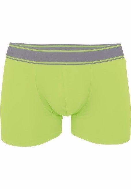 Kariban heren boxershort elasthan groen