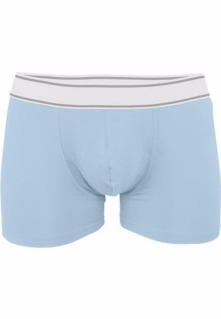 Kariban heren boxershort elasthan lichtblauw