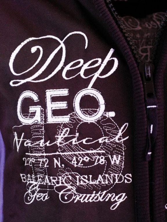 GeographicalNorwayHerenVestDeepBlueFlexidorZwartLarge