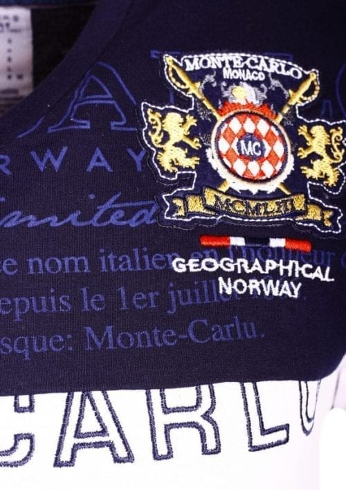 GeographicalNorwayShirtsTshirtsHerenJavalienBendelliWit