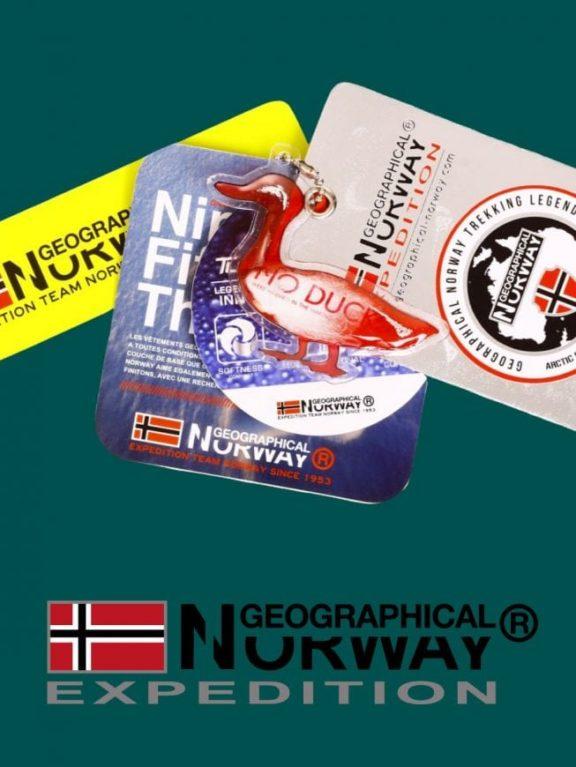 Geographical Norway Winterjas Heren Chaplin kaartjes  Large