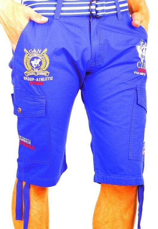 Korte Broek Heren Bermuda Rivaldi Goedkoop Polo Club Blauw  Large