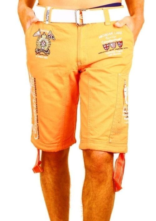 Korte broek heren Canadian Peak Goedkoop Oranje Bendelli  Large