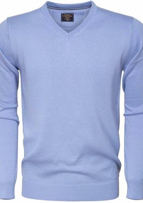 Wam Denim Heren Sweater Hoge Sjaalkraag Bruin 76185 Bendelli