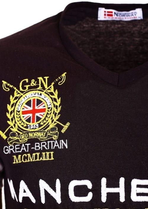 GeographicalNorwayShirtst shirtZwartJingstonManchesterBuckinghamGreatBritain()