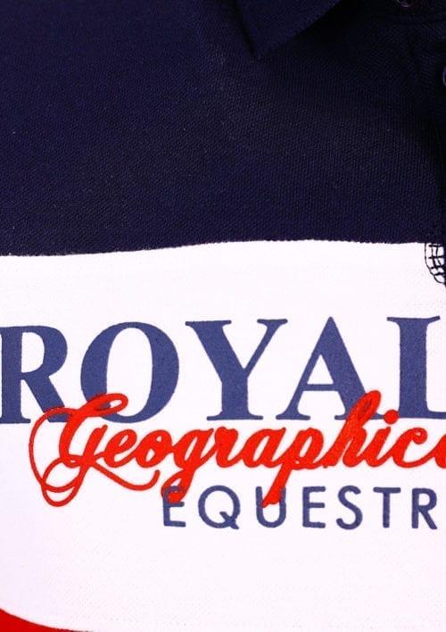 GeographicalNorwaypoloshirtkortemouwRoyalClubKiceRoodmetpaard()