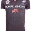 Geographical Norway t shirt heren royal shore grijs jamacho bendelli()