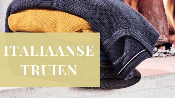 Italiaanse truien Wam Denim en Casa Moda