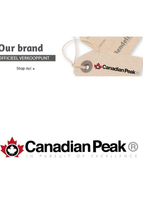 Canadian Peak Logo polo shirt Bendelli Herenmode