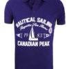 CanadianPeakPoloShirtBlauwKianniNauticalSailingRegattaBendelli()
