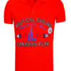 Canadian Peak Polo Shirt Rood Kianni Nautical Sailing Regatta Bendelli