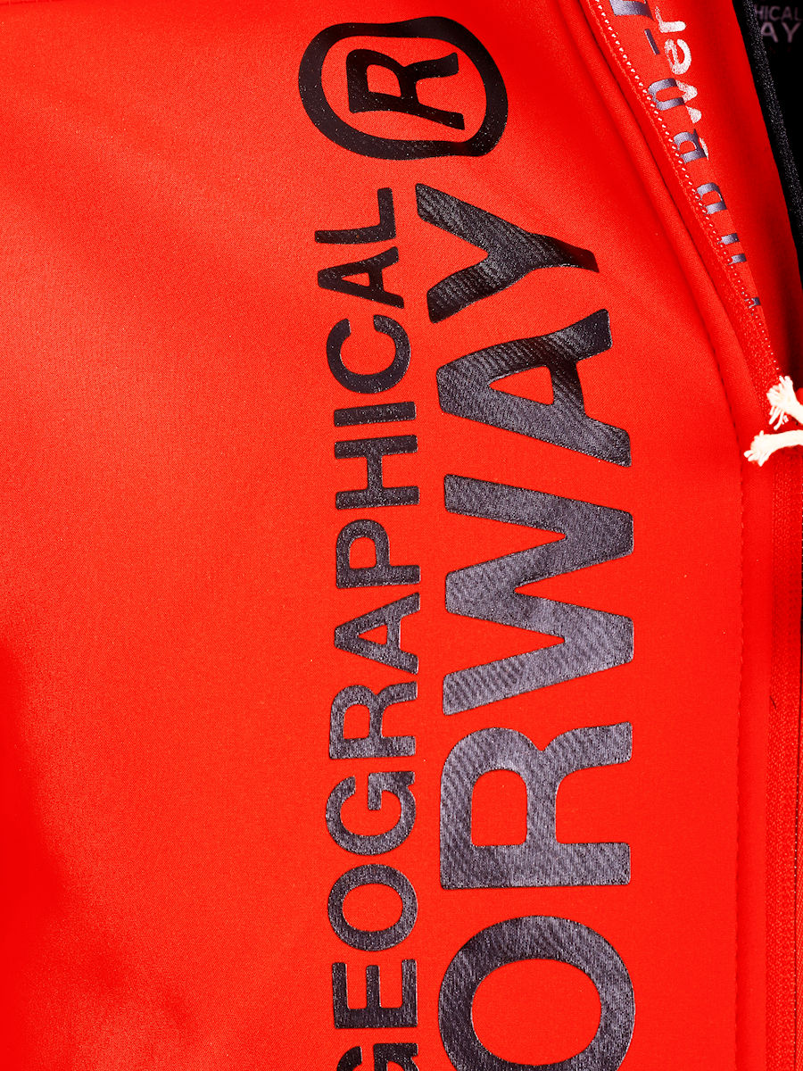 Geographical Norway Softshell Jas Heren Rood Royaute