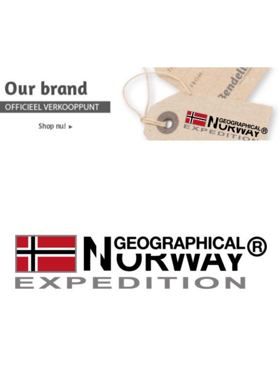 Geographical Norway Logo Bendelli Herenmode