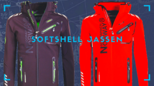 Geographical Norway Softshell jas banner
