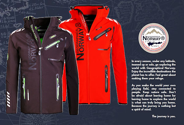 Geographical Norway softshell jas heren