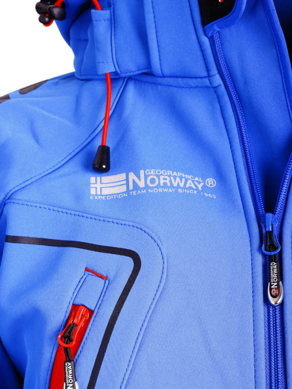 Geographical Norway Softshell jas kobalt heren turbo jacket Bendelli (3)