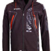 Geographical Norway Softshell jas zwart heren turbo jacket Bendelli (2)