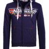 Geographical Norway vest heren sweater blauw Galliator bij Bendelli (2)
