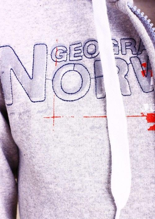 Geographical Norway vest heren sweater grijs Gisland bij Bendelli (3)
