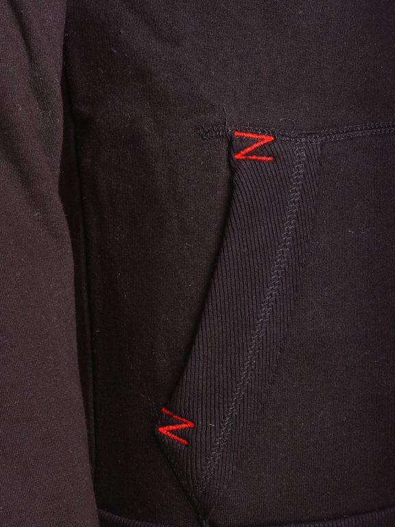 Geographical Norway vest heren sweater zwart Galliator bij Bendelli (5)