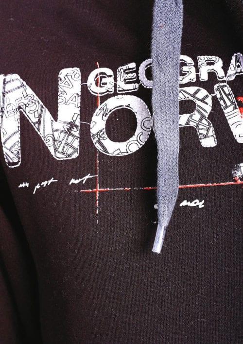 Geographical Norway vest heren sweater zwart Gisland bij Bendelli (3)