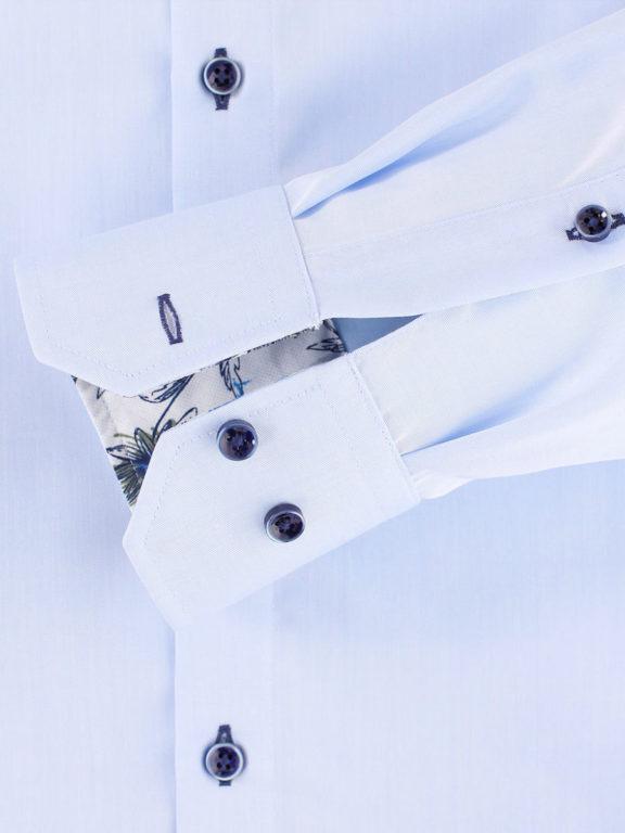 Venti overhemd blauw strijkvrij kent boord lange mouw103367800102 (1)
