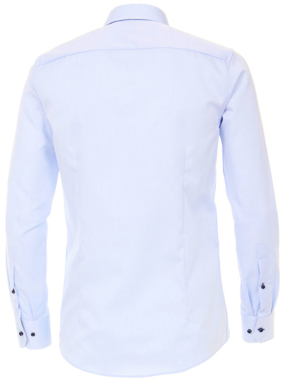 Venti overhemd blauw strijkvrij kent boord lange mouw103367800102 (3)