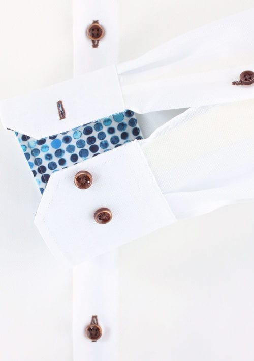 Venti overhemd wit strijkvrij kent boord lange mouw 103366000001 (1)