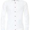 Venti overhemd wit strijkvrij kent boord lange mouw 103366000001 (2)