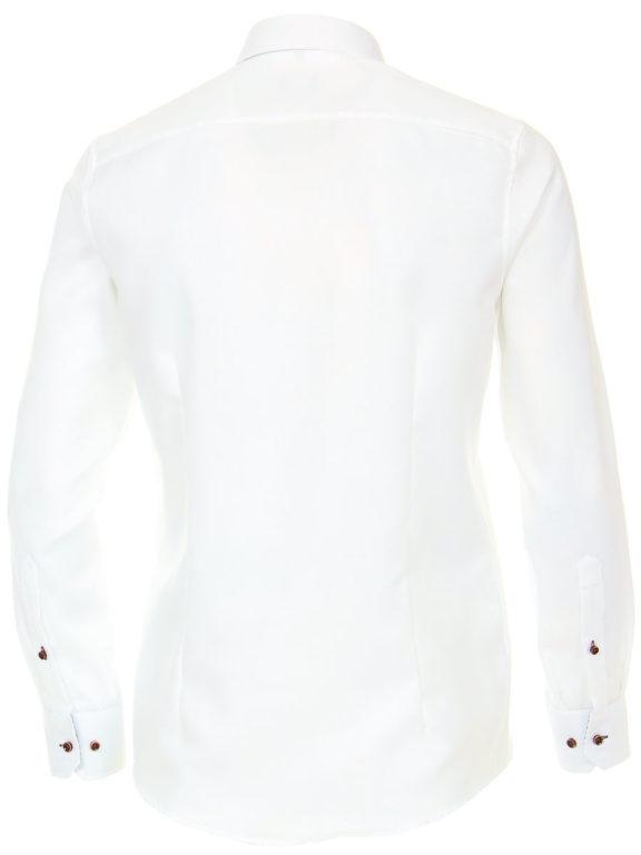 Venti overhemd wit strijkvrij kent boord lange mouw 103366000001 (3)