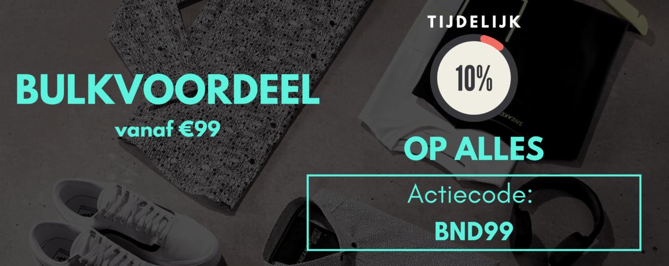 Bulkvoordeel bij Bendelli Herenmode