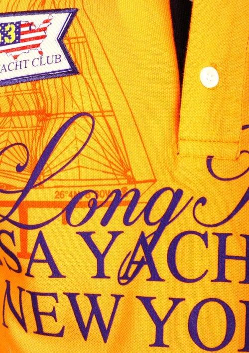 Geographical Norway poloshirt oranje Keylong Long Island New York USA (3)