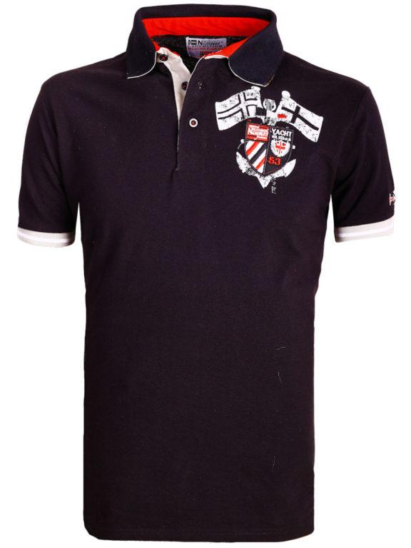 Geographical Norway poloshirt zwart Keny polo shirts voor heren bij bendelli (1)