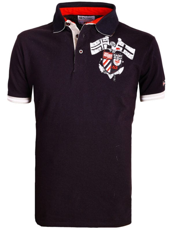 Geographical Norway poloshirt zwart Keny polo shirts voor heren bij bendelli (1)