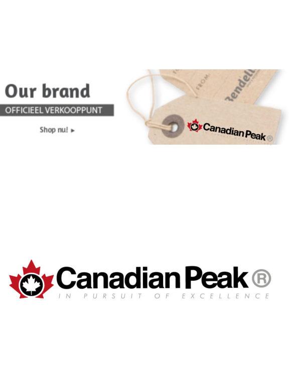 Canadian Peak Logo Bendelli Herenmode