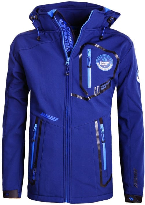 Canadian Peak Softshell jas heren Blauw Terle Softshell jacks (2)