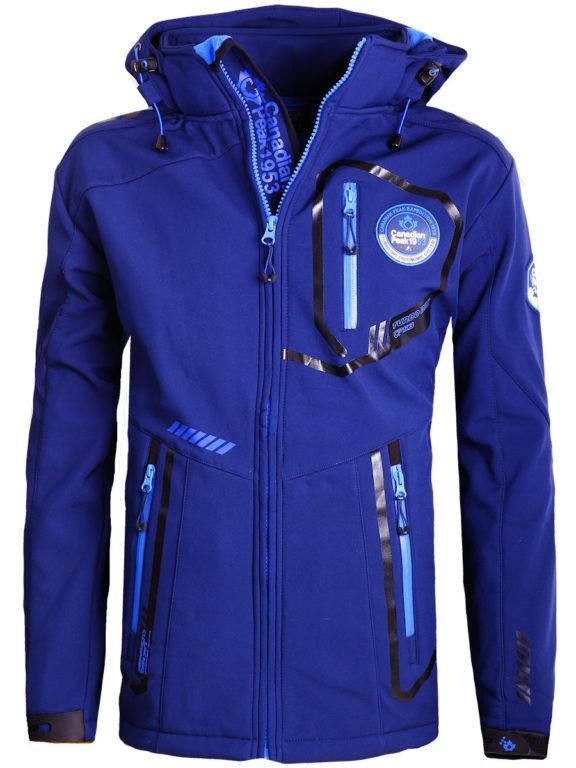 Canadian Peak Softshell jas heren Blauw Terle Softshell jacks (2)