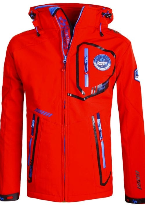 Canadian Peak Softshell jas heren Rood Terle Softshell jacks (2)